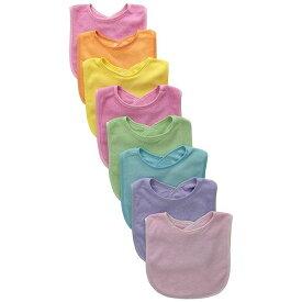 Neat Solutions ニートソリューション 乳児用よだれかけ「インファント ビブ8枚入」 ガール 8枚
