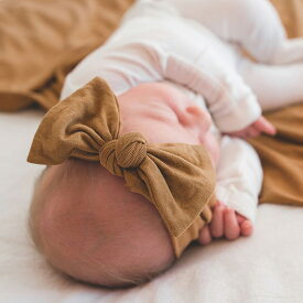 Copper Pearl コッパーパール headband ヘアバンド キャメル ベビー 赤ちゃん 子育て 育児 贈り物 プレゼント