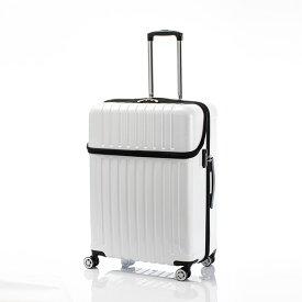 キャリーバッグ Lサイズ 7日間 87L トップオープン ジッパーハード トップス スーツケース 旅行 カバン 大容量(代引不可)【送料無料】