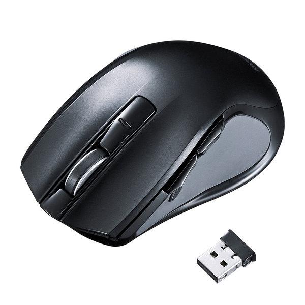 サンワサプライ 心拍センサー付きワイヤレスブルーLEDマウス MA-WHLS1【ポイント10倍】【送料無料】【smtb-f】