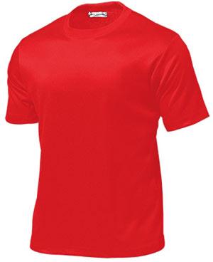 タフドライTシャツ P-110 【130〜150サイズ】 レッド【ポイント10倍】
