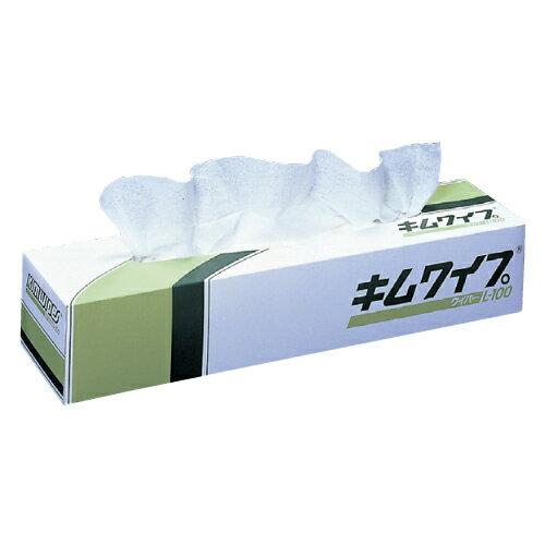 日本製紙クレシア キムワイプ L-100 入数:100枚/箱 62001【ポイント10倍】