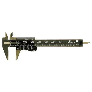 シンワ測定 プラスチックノギス サイズ(全長):70 19514