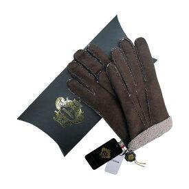 OROBIANCO オロビアンコ メンズ手袋 ORM-1409 Leather glove 羊革 DARKBROWN BEIGE サイズ:8(23cm) プレゼント クリスマス【ポイント10倍】【送料無料】
