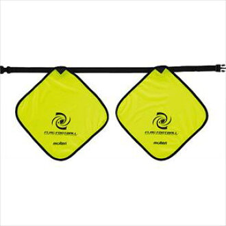 供MOLTEN(molten)橄榄球旗帜足球使用的旗帜XA0030-Y磁铁穿脱式旗帜:34*34cm,皮带:1m(最长)聚酯Y黄色