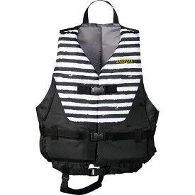 AQA(アクア) ライフジャケット KA9020 【カラー】ブラックボーダー×ブラック 【サイズ】M【ポイント10倍】