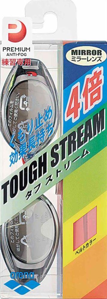 ARENA(アリーナ) くもり止めスイムグラス TOUGH STREAM(ミラー加工) AGL220MPA 【カラー】シルバー×スモーク 【サイズ】FREE 【ポイント10倍】