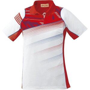 GOSEN(ゴーセン) T1611 レディースゲームシャツ T1611 【カラー】レッド 【サイズ】S【送料無料】