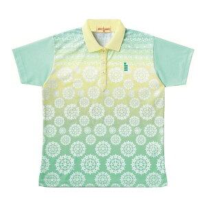 GOSEN(ゴーセン) T1401 レディースゲームシャツ T1401 【カラー】シャーベットグリーン 【サイズ】M【送料無料】