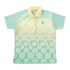 GOSEN(ゴーセン) T1401 レディースゲームシャツ T1401 【カラー】シャーベットグリーン 【サイズ】S【ポイント10倍】【送料無料】
