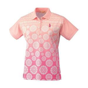 GOSEN(ゴーセン) T1401 レディースゲームシャツ T1401 【カラー】ピンク 【サイズ】L【送料無料】