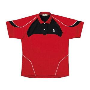 GOSEN(ゴーセン) T1402 ゲームシャツ T1402 【カラー】レッド 【サイズ】LL【送料無料】