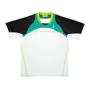 GOSEN(ゴーセン) T1414 ゲームシャツ T1414 【カラー】エメラルドグリーン 【サイズ】L【送料無料】