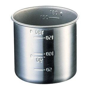 アイデアセキカワ 18-8 お米の計量カップ 1合 AKM3901