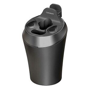 カーメイト IQOS3 マルチスタンド ブラック DZ515 オールインワンホルダー ホワイトLED 吸い殻入れ