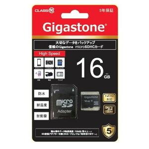 Gigastone microSD16GB class10 GJM10/16G