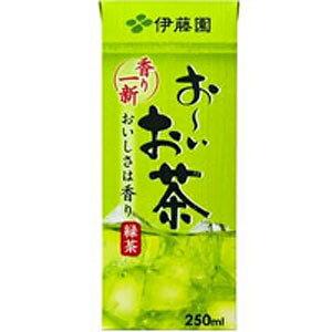 伊藤園 お〜いお茶 緑茶 紙パック 250ml×24本 1ケース おーいお茶(代引き不可)【送料無料】