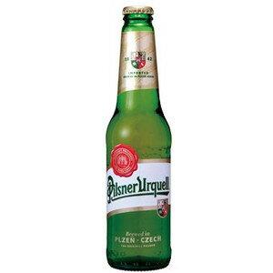 チェコ ピルスナー ウルケル 瓶 輸入ビール 330ml×24本