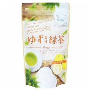 ゆず入り緑茶 ティーバッグ 3g×20包入