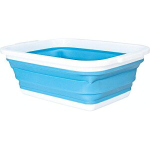 コジット 薄く畳める洗い桶 90520 折りたたみ コンパクト 風呂桶 たらい