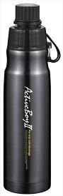 タフコ スポーツボトル アクティブボーイ2 0.5L ブラック F-2662 (代引不可)