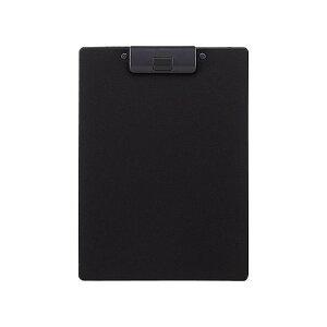 リヒト クリップボード捺印A4E 黒 A-2980-24