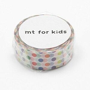 カモ井加工紙 マスキングテープ KIDS カラフル・ドット MT01KID002【S1】