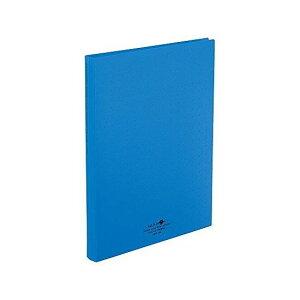 リヒト 名刺ファイル A4 500 青 A-5043-8 1冊