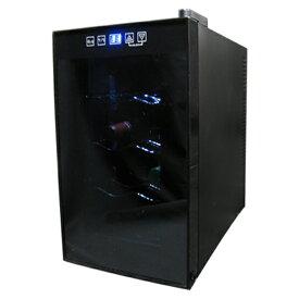 8本収納ワインセラー ワインセラー 温度調節機能付き ワインセラー 温度調節 8本収納 右開き ワイン 家庭用 静音設計 (代引不可)【送料無料】