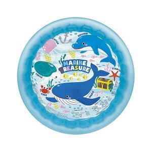 イガラシ マリントレジャープール 120cm ビニールプール 浮き輪 プール 家庭用 水遊び【送料無料】