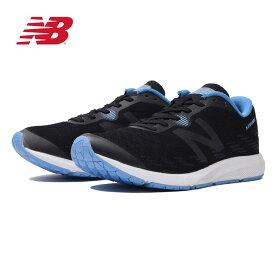 ニューバランス ランニングシューズ STROBE ストロボ WSTRO(D) ブラック×ブルー レディース New Balance【送料無料】