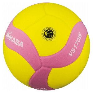 ミカサ(MIKASA) MIKASA ミカサ スマイルバレーボール5号球 FIVB公認スマイルバレー5号 イエロー×ピンク VS170WYP