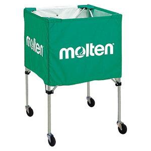 モルテン(Molten)折りたたみ式ボールカゴ(屋外用)緑BK20HOTG【送料無料】【smtb-f】