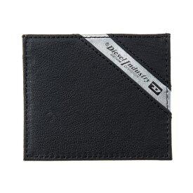 ディーゼル DIESEL【X04372P1221H6168】Black/Dark Acciaio カードケース【送料無料】