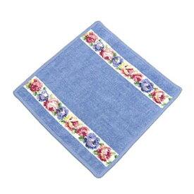 フェイラー FEILER タオル AIDA WHITE BLUE wash cloth 25/25 タオル25X25