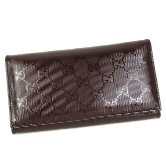 Gucci by GUCCI long wallet long tag 245908 D.PUR