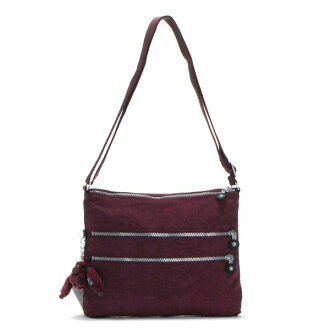 Kipling kipling shoulder bag BASIC K13335 ALVAR PORT RED RED