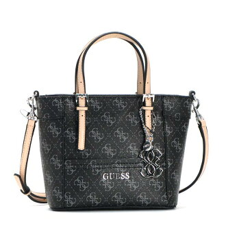 Guess GUESS tote bag SY453577 DELANEY PETITE TOTE COAL BK
