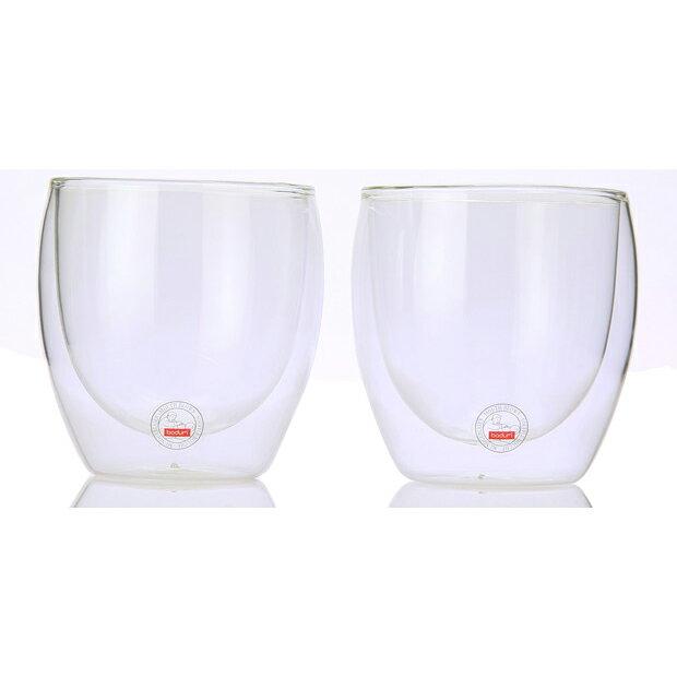 ボダム ダブルウォールグラス 0.25L 2個セット PAVINA 4558-10US【あす楽対応】