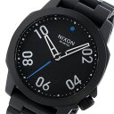 ニクソン NIXON レンジャー 40 RANGER 40 クオーツ メンズ 腕時計 A468-001 ブラック【送料無料】
