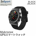 Mykronoz マイクロノス スマートウォッチ ZESPORT KRZESPORT - BLACK ブラック【送料無料】【smtb-f】
