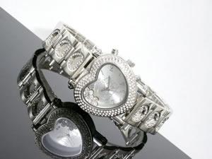 ディズニープーさん腕時計デリシャスハート白DINEY-16