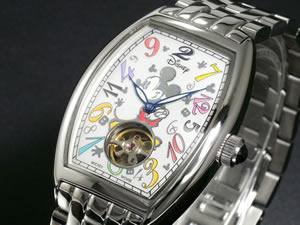 ディズニーミッキー腕時計77周年ファンタジーアワー白DISNEY-2