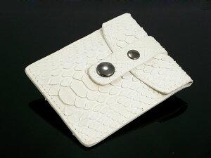パイソン 携帯灰皿 A2290113 ヘビ革 ホワイト