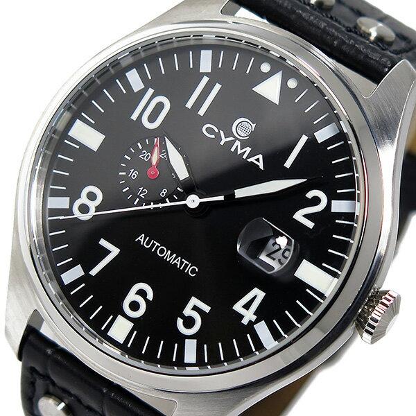 シーマ CYMA 自動巻き メンズ 腕時計 CS-1001-BK ブラック/ブラック【送料無料】【楽ギフ_包装】【S1】