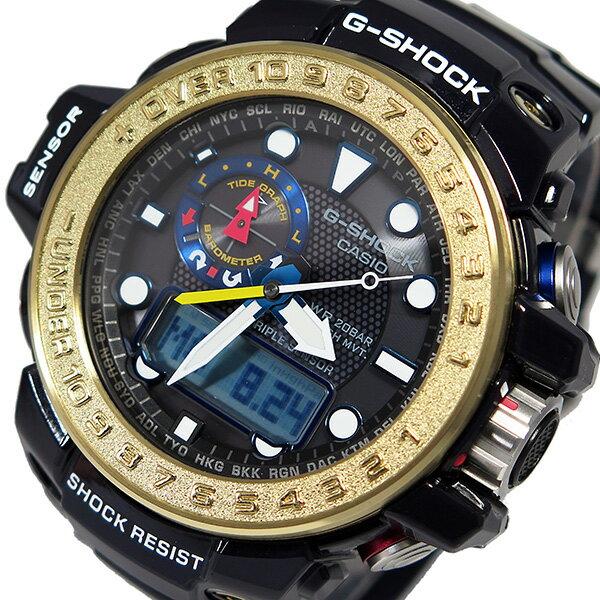 カシオ CASIO Gショック ガルフマスター メンズ 腕時計 GWN-1000F-2A ブラック【送料無料】【楽ギフ_包装】