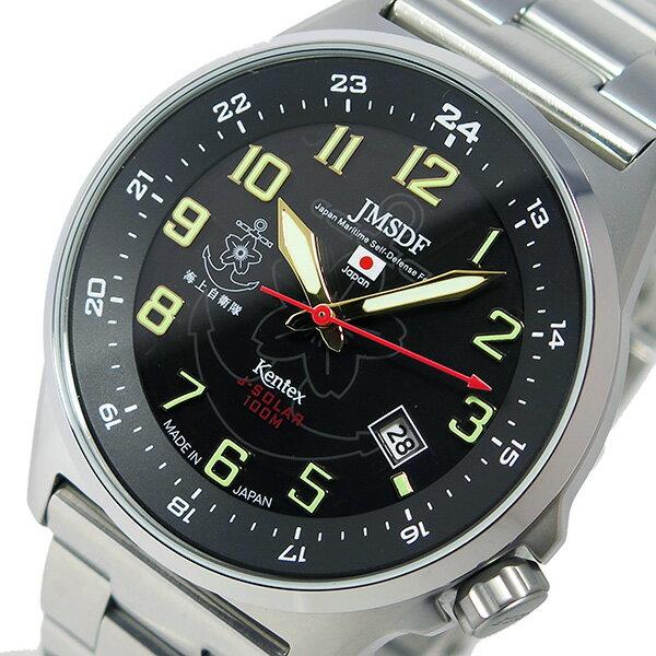ケンテックス KENTEX JSDFソーラースタンダード メンズ 腕時計 S715M-06【送料無料】【楽ギフ_包装】