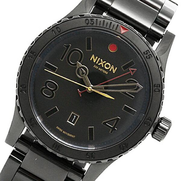 ニクソン NIXON ディプロマットSS クオーツ メンズ 腕時計 A2771883 ブラック【送料無料】【楽ギフ_包装】