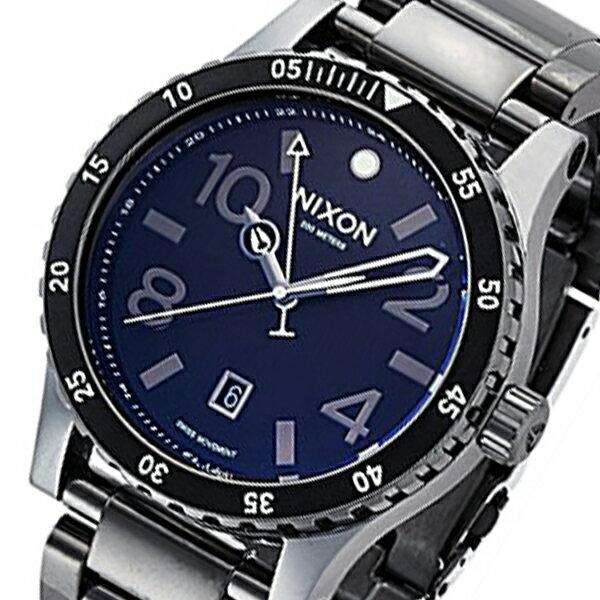 ニクソン NIXON ディプロマットSS クオーツ メンズ 腕時計 A2771885 ネイビー【送料無料】【楽ギフ_包装】