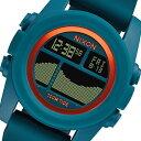 ニクソン ユニットタイド デジタル ユニセックス 腕時計 A2822087 マリンブルー【送料無料】【楽ギフ_包装】